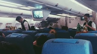 Philippine Airlines A340-300 Flight Experience: PR211 Manila to Sydney