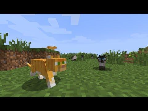 MineCraft 12 Ocelot Cat Breeding Farm YouTube