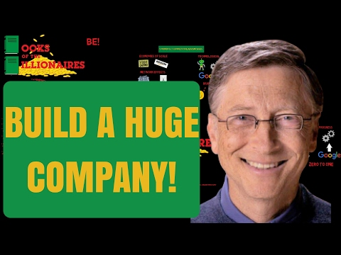 HOW TO BUILD A BUSINESS COMPANY MONOPOLY - PETER THIEL ZERO TO ONE BOOK SUMMARY REVIEW AUDIOBOOK
