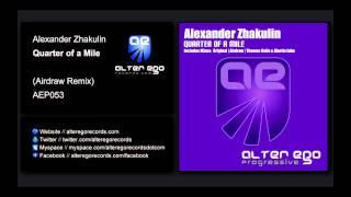 Alexander Zhakulin - Quarter of A Mile (Airdraw Remix) [Alter Ego Progressive]