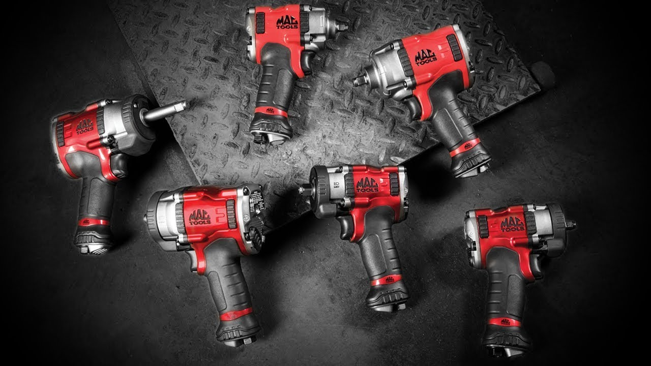 Family of Air Impact Wrenches   Mac Tools®