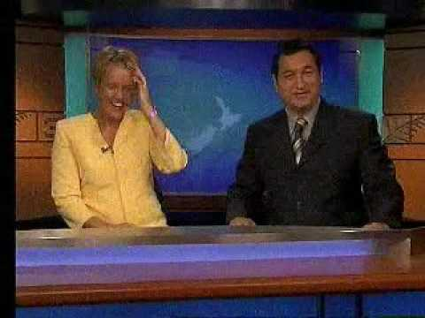 Hilary Barry's on air snort
