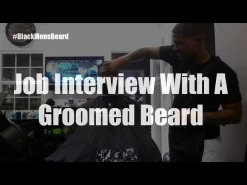 Job Interview With A Groomed Beard
