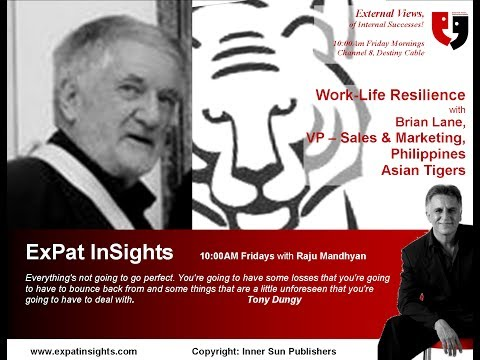 Work-Life Resilience with Brian Lane on ExPat InSights by Raju Mandhyan