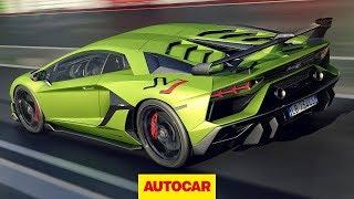2019 Lamborghini Aventador Svj Review   759bhp V12 Hypercar Driven   Autocar