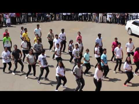 Flashmob by Team Hidden Stars of UASD