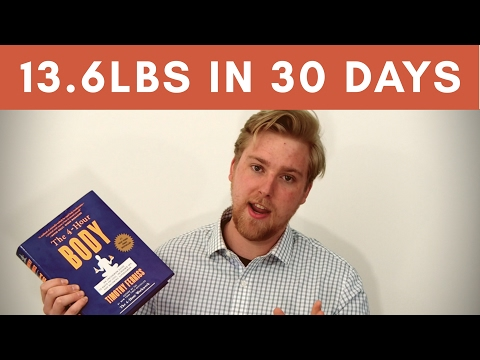 Why Should I Read | The 4-Hour Body Book Review & Slow-Carb Diet Test