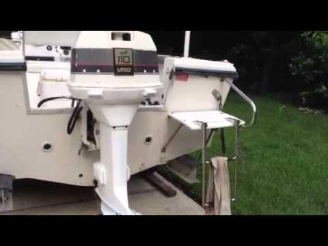 110 johnson vro youtube rh youtube com Johnson Outboard Motor Year 85 HP Evinrude V4