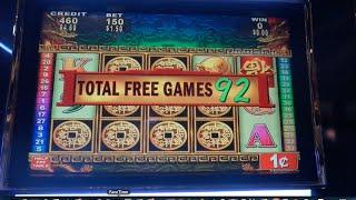 China Mystery Slot Machine Bonus - Max Bet Nice Win!