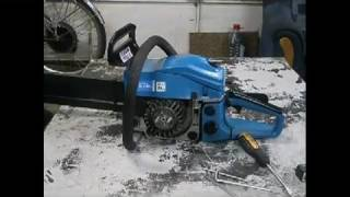 Ремонт замінити котушку запалювання на бензопили