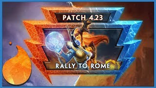 Smite 4.23 Patch Notes Review
