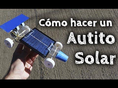 C 243 Mo Hacer Un Auto Solar Casero Youtube