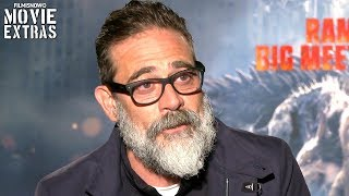 RAMPAGE | Jeffrey Dean Morgan talks about his experience making the movie