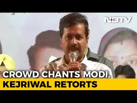 At Arvind Kejriwal's Rally, Chants Of 'Modi Modi'. How He Responded