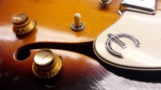 Download 1966 Epiphone Casino Model E230TD Thinline MP3 song and Music Video