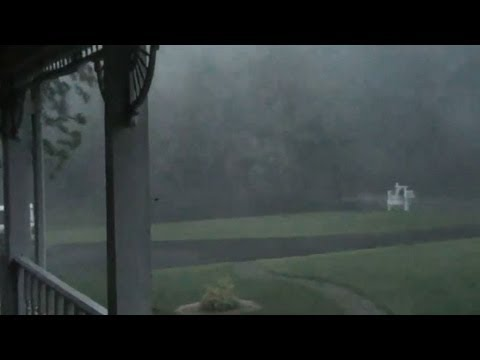 Derecho's Heavy Rain, Strong Wind
