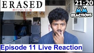 Memory Returns!! -  Erased Anime Episode 11 Live Reaction (Boku dake ga Inai Machi)