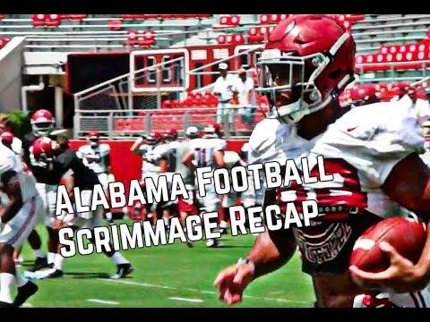 Alabama Football Review - Post Scrimmage Recap