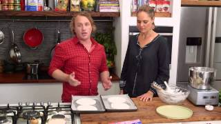 Csr Gluten Free Chocolate And Cherry Meringue Stack Cake | Good Chef Bad Chef S7 E43