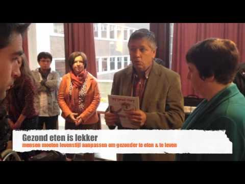 My sweet story 'trailor' van de persconferentie met Minister Jo Vandeurzen