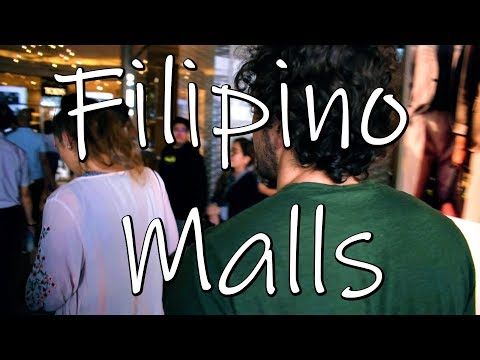 PHILIPPINES MALLS ARE HUGE!? PHILIPPINES TRAVEL VLOG!