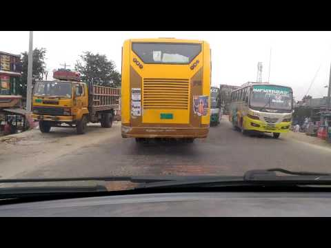 Dhaka Tangail 4-lane highway working .Time lapse Video-2. Update: 5,November,2016.