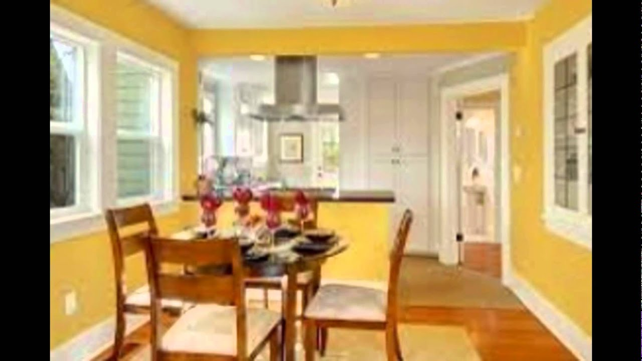 Yellow Dining Room Ideas You