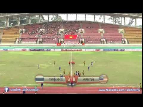 คลิปไฮไลท์ AFF u19 ทีมชาติไทย 5-0 มาเลเซีย Thailand 5-0 Malaysia
