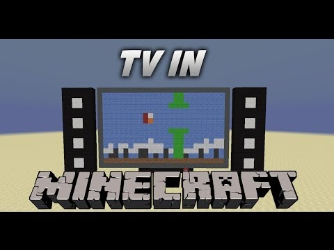 Fully working TV in Minecraft no mods by Craftronix from YouTube · Duration:  1 minutes 52 seconds