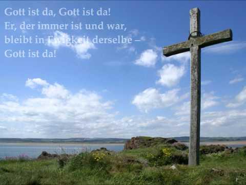 Singt ein Lied von Gott (Gott ist da)