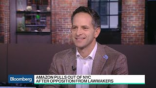 SurveyMonkey CEO on Amazon's NYC Exit and Facebook