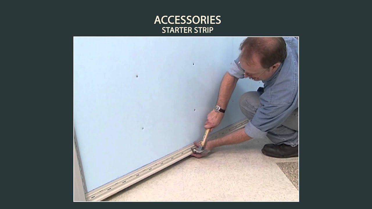 Vinyl Siding Installation Accessories Starter Strip