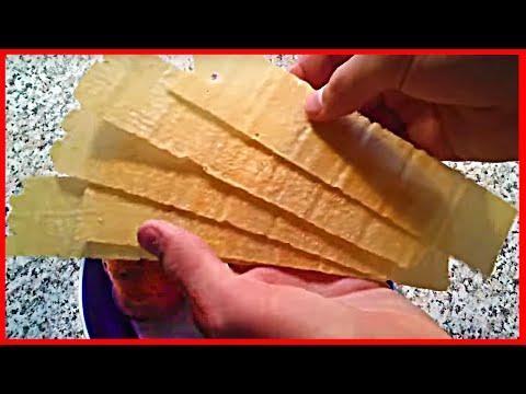 Как сделать длинные чипсы в домашних условиях