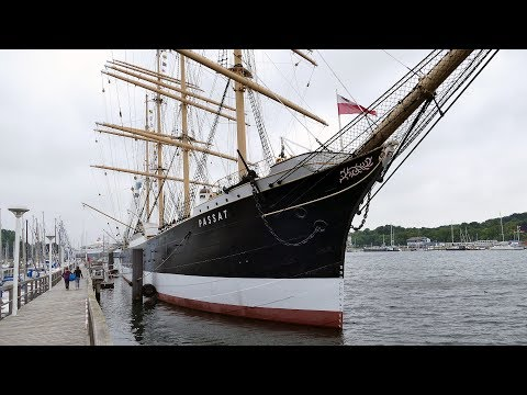 A tour over the Four Masted Barque PASSAT at Travemunde June 2017