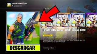 1 PEAU EXCLUSIVE GRATUITE À FORTNITE!? DOES XBOX'S EXCLUSIVE SKIN COME OUT?
