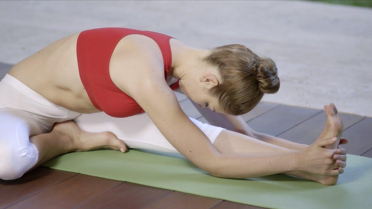 Поза головы на колене. Джану ширшасана – Позы йоги для начинающих.