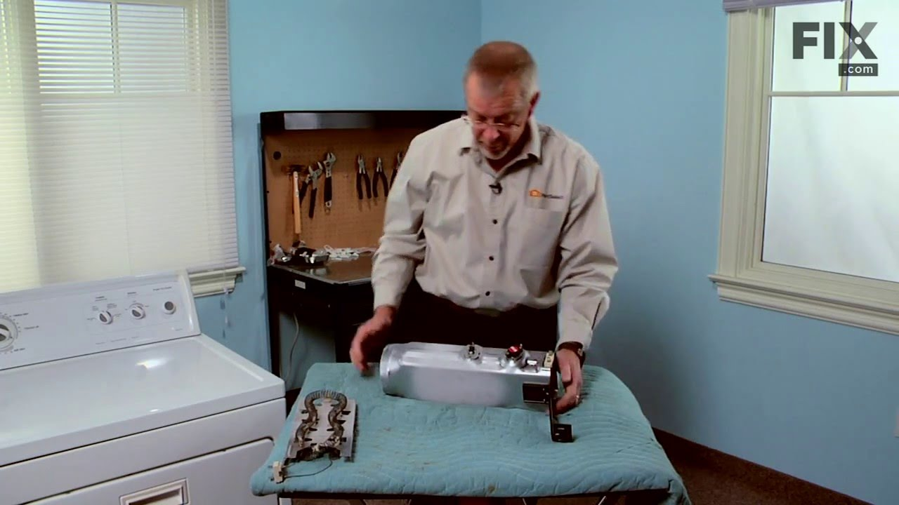 Kenmore Dryer Repair – How to replace the Heating Element - 240V ...