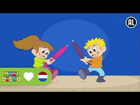 Het Regent | Kinderliedjes | TEKENFILM | Liedjes voor peuters en kleuters | Minidisco