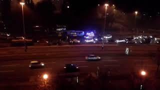Prometna nesreća u Zagrebu, auto se zabio u autobus