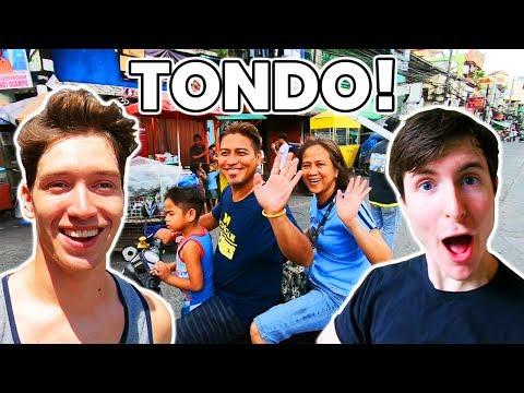 TONDO! The Friendliest Place in Manila! - Philippines Travel Vlog