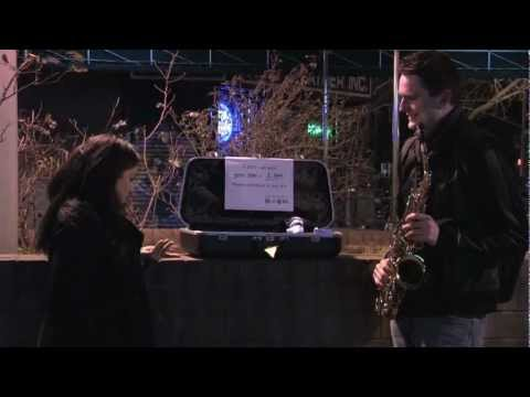 100 Jobs 1 Year - Job #1 - Street Musician