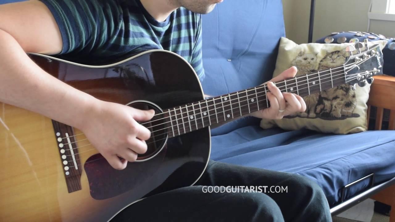 Crazy Love Van Morrison Cover Acoustic Guitar Fingerstyle