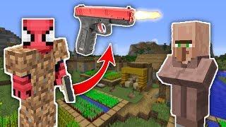 Zengİn Vs Fakİr ÖrÜmcek Adam #8 - Fakir Köyü Karıştırdı  Minecraft