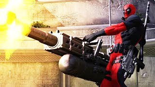 10 BIGGEST GUNS (LITERALLY) in Video Games   Chaos