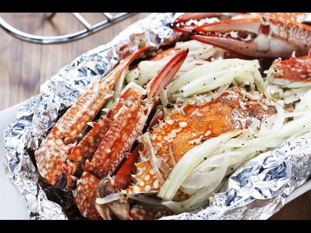 【楊桃美食網-3分鐘學做菜】烤奶油螃蟹HD