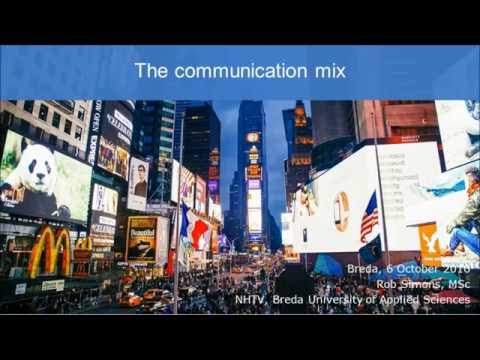 Introduction To The Communication Mix