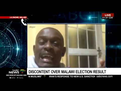 Latest On Malawi Election Results Protests Dan Mababa