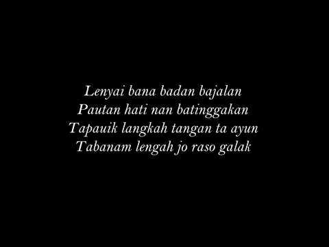 IPANK feat KINTANI - Bakilah Ka Rantau  (Lirik)