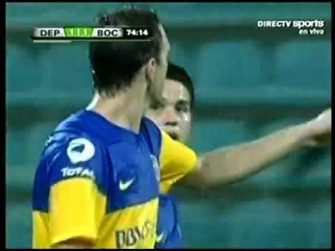 Gol Cristian Alvarez - DEPORTIVO ANZOATEGUI - BOCA (1-1) - 29/07/2012
