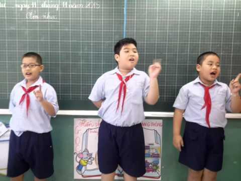 Cò lả - lớp 4/5 Tiểu học Nguyễn Huệ - NH 2015-2016